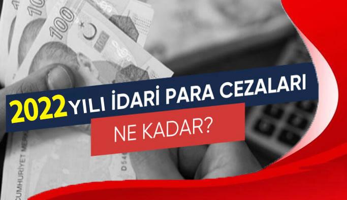 2021 yılı idari para cezaları