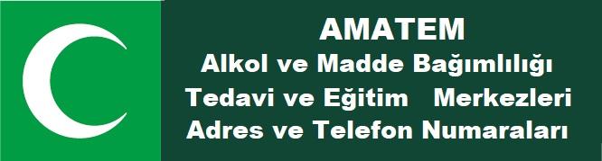 AMATEM Adres ve Telefon Numaraları
