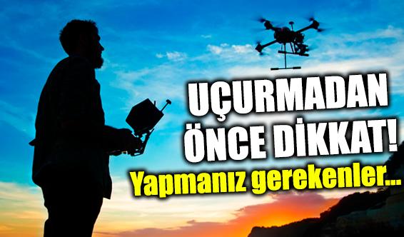 Drone-İHA uçurmak için izin gerekli mi