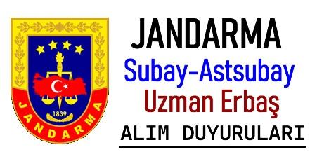Jandarma Subay, Astsubay ve Uzman Erbaş Alımları